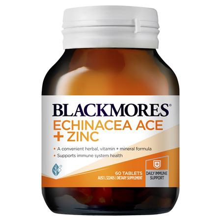 Blackmores Echinacea Ace + Zinc, 60 Tablets (37849)