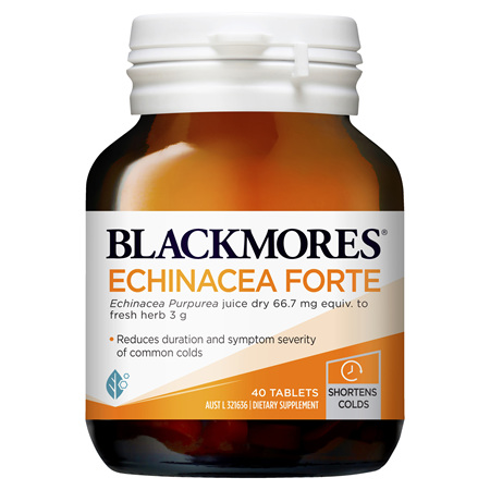Blackmores Echinacea Forte, 40 Tablets (37881)