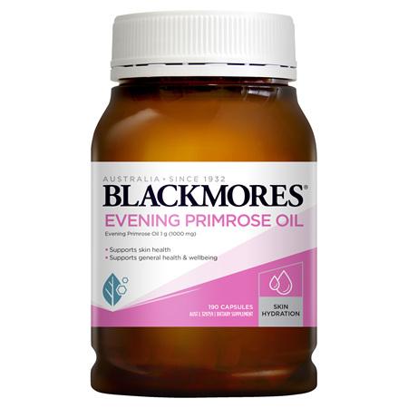 Blackmores Evening Primrose Oil, 190 Capsules (28937)