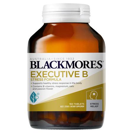 Blackmores Executive B Stress Formula, 160 Tablets (36321)