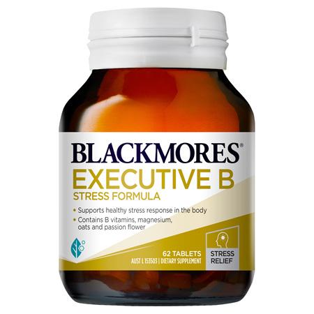 Blackmores Executive B Stress Formula, 62 Tablets (01414)