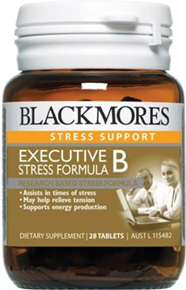 Blackmores Executive B Stress Formula Tablets 28s