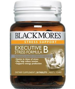 Blackmores Executive B Stress Formula Tablets 28s