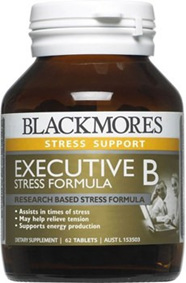 Blackmores Executive B Stress Formula Tablets 62s