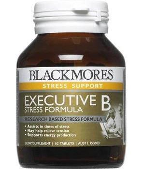 Blackmores Executive B Stress Formula Tablets 62s