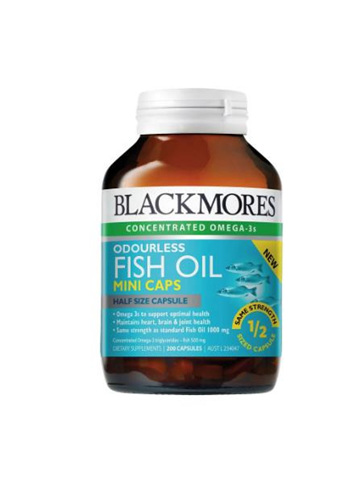 Blackmores Fish Oil Mini Caps 200pk