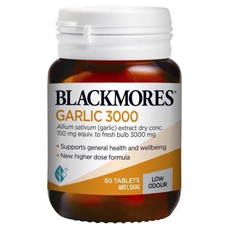 Blackmores Garlic 3000, 60 Tablets (37951)