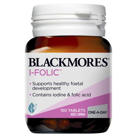 Blackmores I-Folic, 150 Tablets (23181)