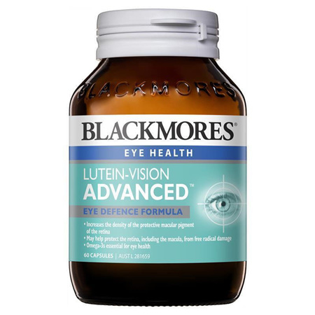 Blackmores Lutein-Vision® Advanced 60 Capsules