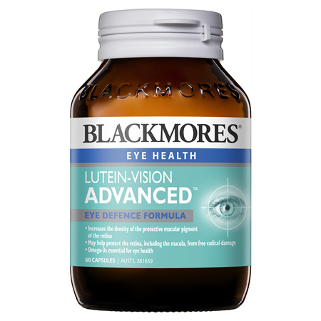 Blackmores Lutein-Vision Advanced, 60 Capsules (39955)