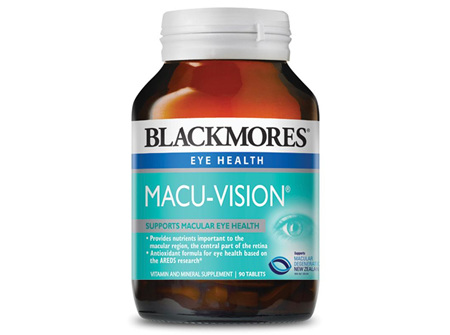 BLACKMORES MACU VISION TABS 90