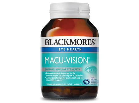 BLACKMORES MACU VISION TABS 90 (E)