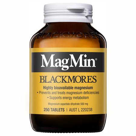 Blackmores MagMin, 250 Tablets (11834)