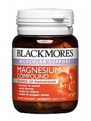 Blackmores Magnesium Compound Tabs 84s