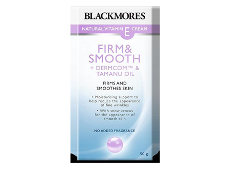 Blackmores Natural Vitamin E Cream Firm  Smooth