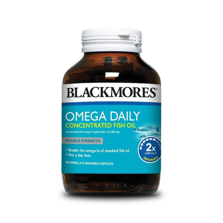 Blackmores Omega Daily Concentrated 90 Capsules
