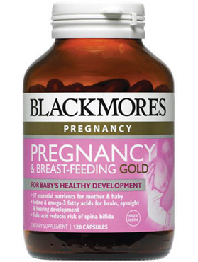 BLACKMORES PREGNANCY BREAST FEED TAB 120