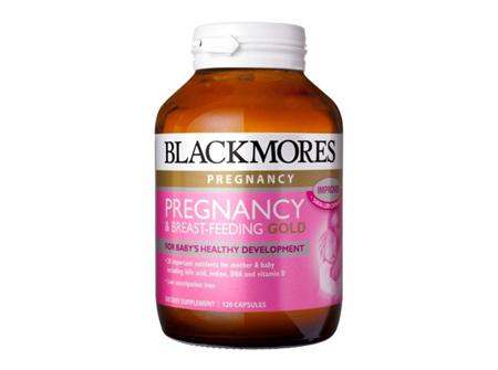Blackmores Pregnancy & Breast-Feeding Gold-60 Capsules
