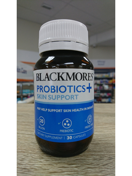 Blackmores Probiotics + Skin Support 30's