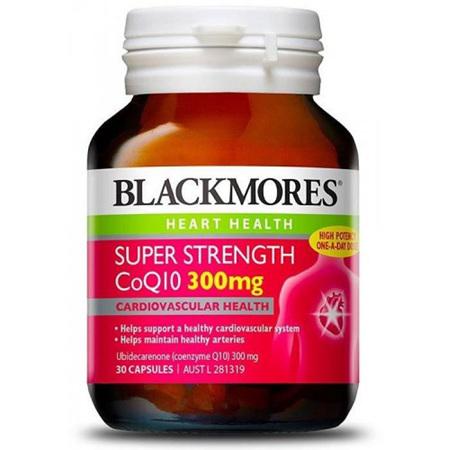 Blackmores Super Strength CoQ10 300mg 60 Capsules