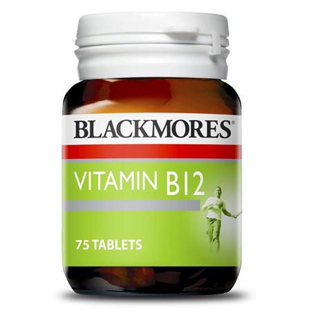 Blackmores Vitamin B12 50mcg 75 Tablets