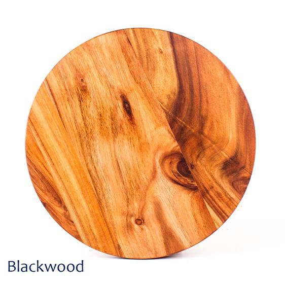 blackwood round pizza board - nz made