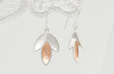 Blade earrings