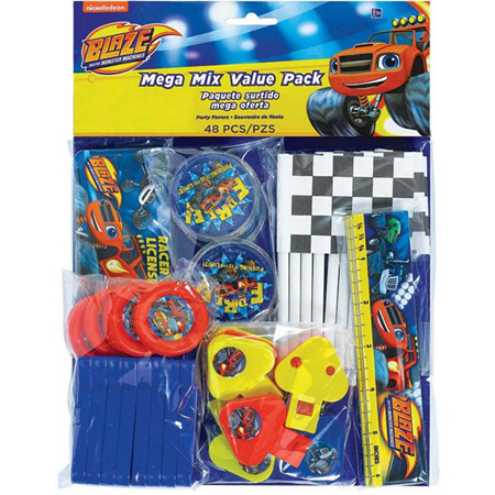Blaze favor pack - 48 pieces