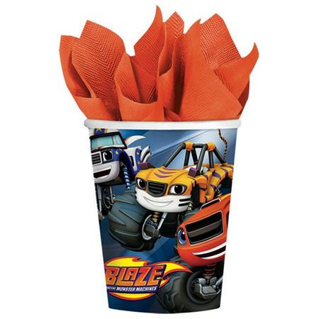 Blaze paper cups x 8