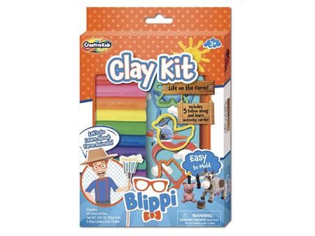 Blippi Clay Kit Life on the Farm