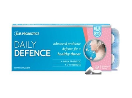 Blis Daily Defence Lozenges S/berry 30