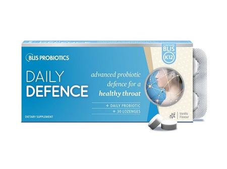 Blis Daily Defence Lozenges Vanilla 30
