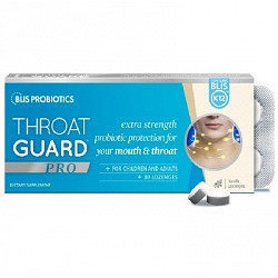 Blis Throat Guard Pro With Blis K12 30 Lozenges