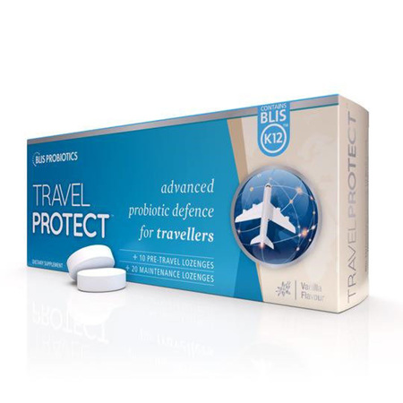 Blis TravelProtect with Blis K12 Lozenges 30