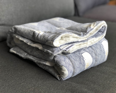 Custom Made Bliss Weighted Blanket  75cmx100cm 1kg-5kg
