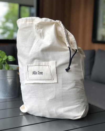 Drawstring Bag for Bliss Weighted Blanket