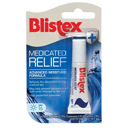 BLISTEX LIP MEDICATED RELIEF 6G