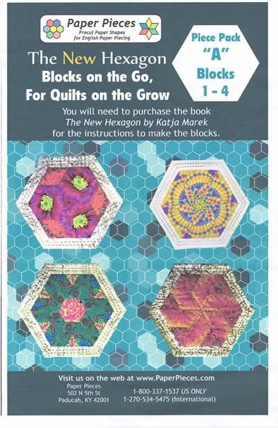 Blocks on the Go, For Quilts on the Grow - Piece Pack A