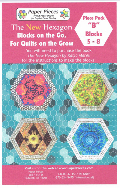 Blocks on the Go, For Quilts on the Grow - Piece Pack B