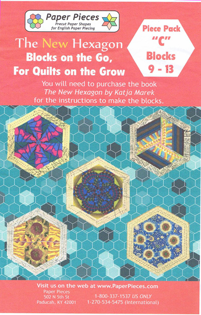 Blocks on the Go, For Quilts on the Grow - Piece Pack C