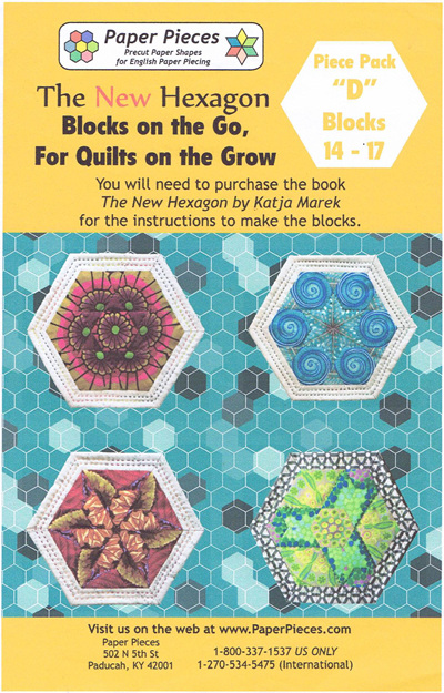 Blocks on the Go, For Quilts on the Grow - Piece Pack D