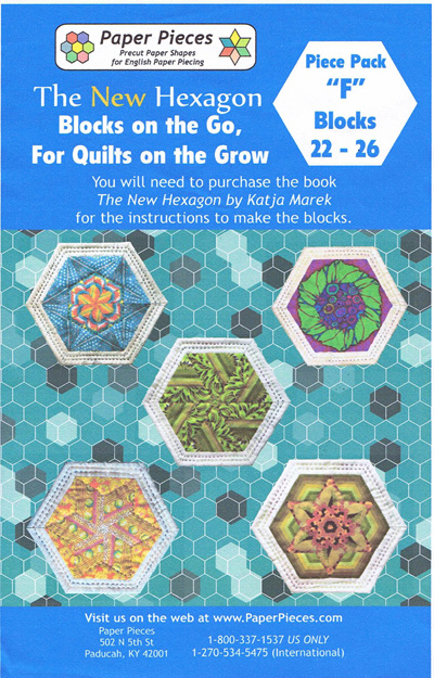 Blocks on the Go, For Quilts on the Grow - Piece Pack F