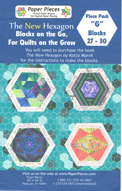 Blocks on the Go, For Quilts on the Grow - Piece Pack G