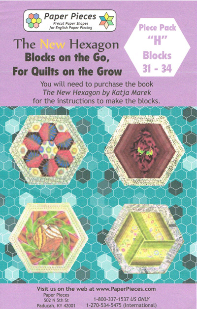 Blocks on the Go, For Quilts on the Grow - Piece Pack H