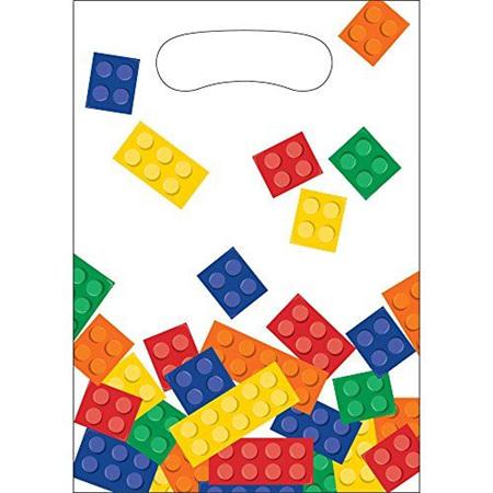 Blocks Party Loot Bags x 8