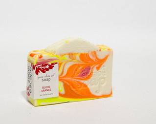 Blood Orange Artisan Soap bar