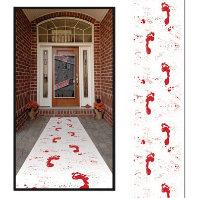Bloody Footprints - Floor Runner