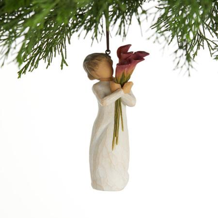 Bloom hanging ornament.