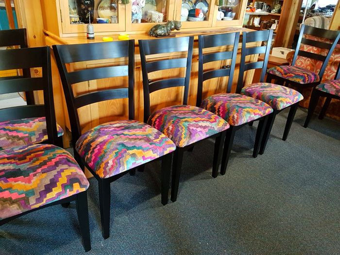 bloomdesigns  dining chairs solid wood designed & made to order new zealand