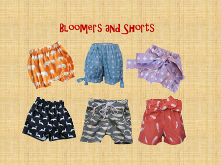 Bloomers and Shorts